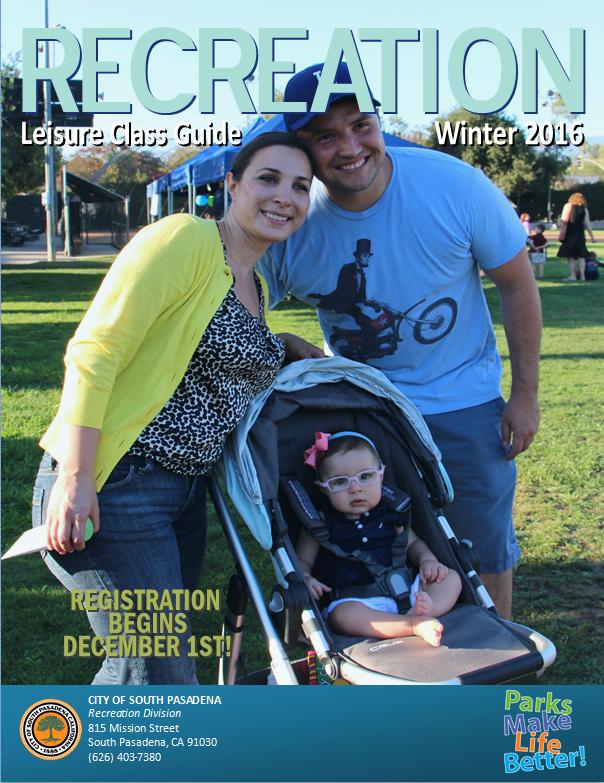 Winter 2016 Recreation Guide