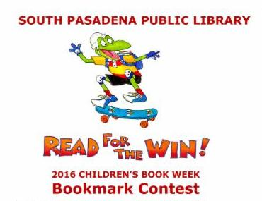 Read for the Win_ 2016 Children_s Book Week Bookmark Contest Flier