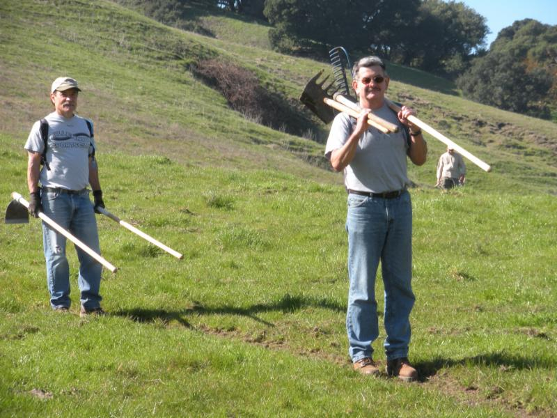 workday at Lynch Canyon