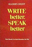 Write better, Speak better