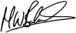 Dr. Balcolm signature