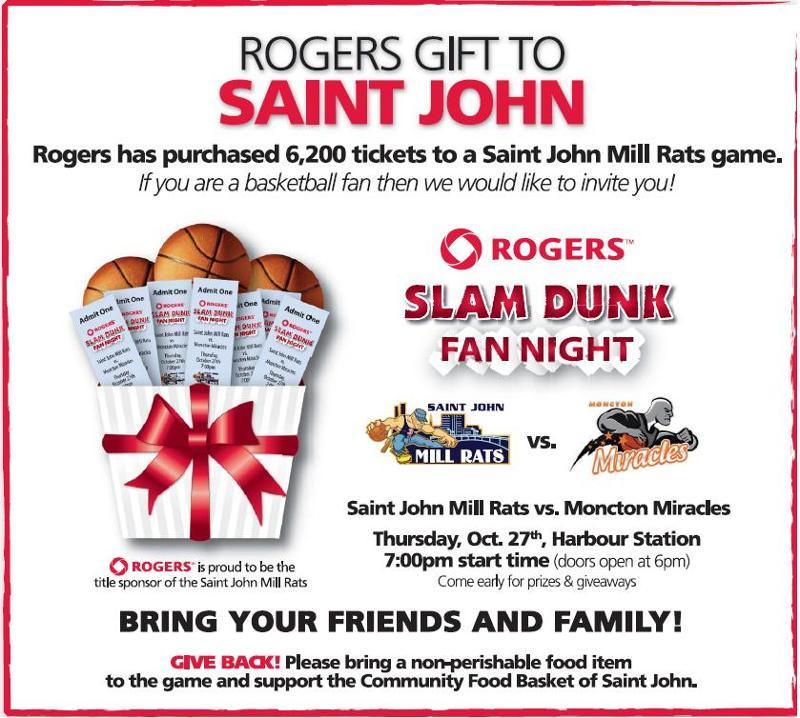 Rogers Slam Dunk