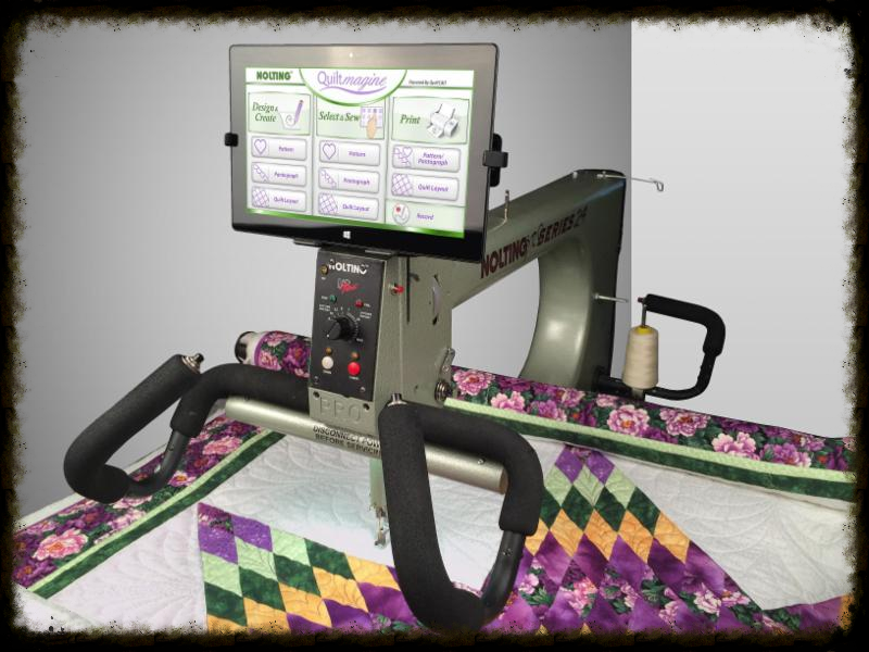 quiltmagine computer guided quilting