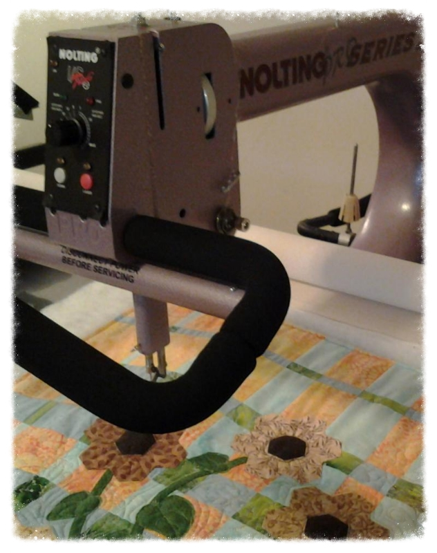Nolting Pro longarm machine