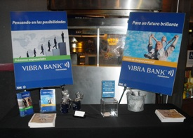 Vibra's Booth at Festival