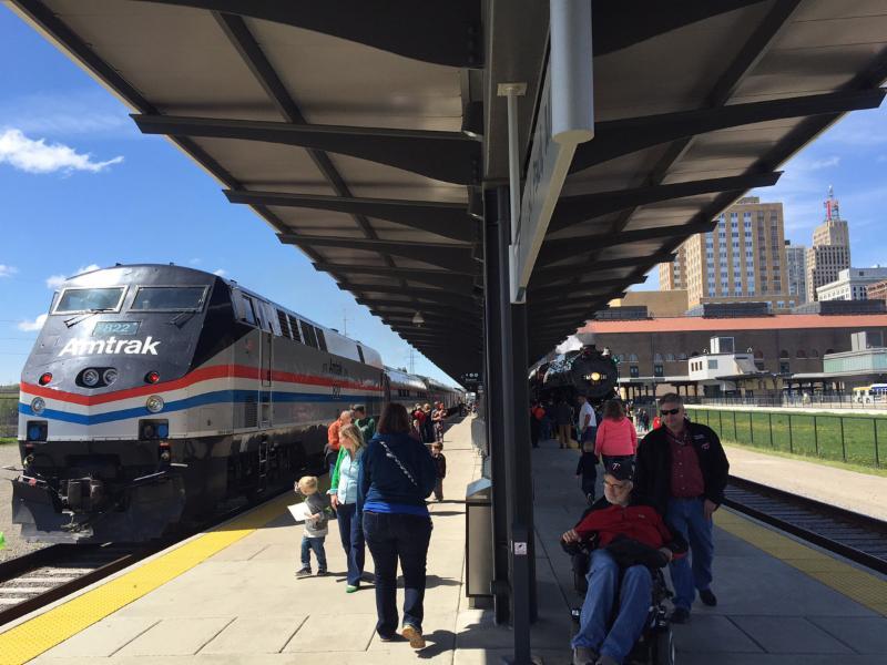 Amtrak at Union Depot