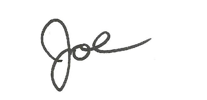 joe signature
