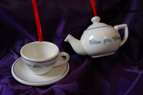 Teapot and Teacup ornaments