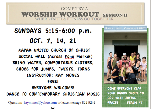 Worship  Workout