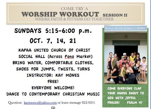Worship  Workout