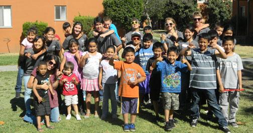 Mission children group