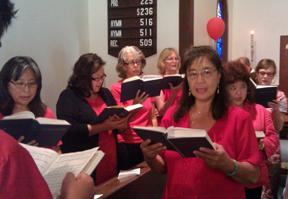 choir red