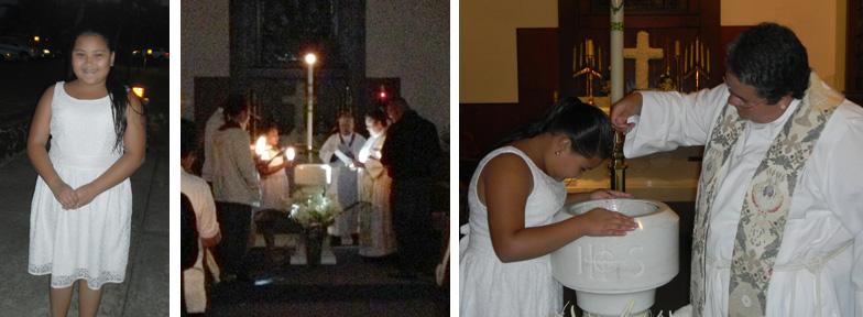 2013 Daileen Baptism