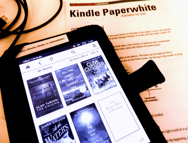 Borrow a kindle_