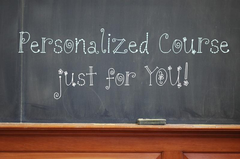 personalized course