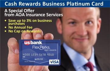 AOA Insurance Credit Card Offer