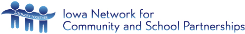Iowa Network for Community and School Partnerships Logo