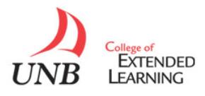 UNB CEL logo