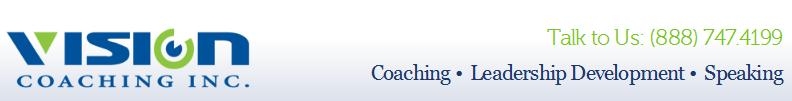 Vision Coaching Header Panel