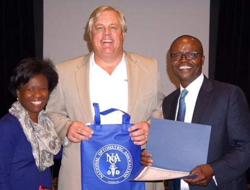 Mrs. Consuela Randolph, Mr. Doug Martin, Dr. A Philip Aitsebaomo