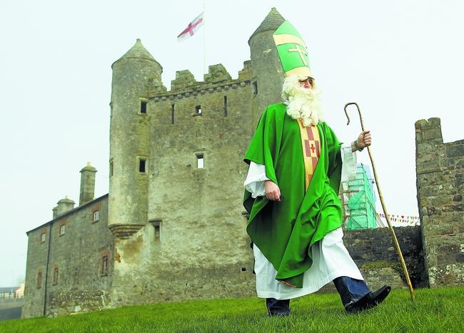 St Partick and Enniskillen Castle