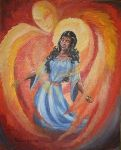 Annunciation by Trudie Barreras