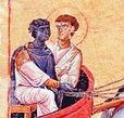 Philip and Ethiopian Eunuch, 11th century