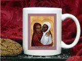 Perpetua and Felicity mug