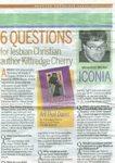 Houston Chronicle article on gay Jesus