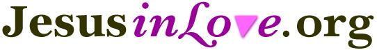 Jesus in Love typeface logo