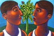 Adam and Steve and the Banana Tree by Tony De Carlo