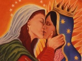 Guadalupe and Mary Magdalene by Alex Donis