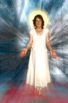 Jesus, Queen of Heaven poster