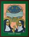 Hildegard of Bingen and Richardis by Lewis Williams