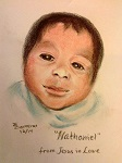 Baby portrait by Trudie