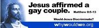 Would Jesus discriminate billboard