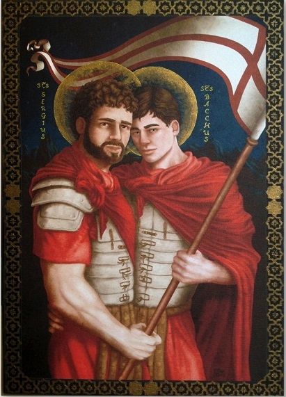Sergius and Bacchus by Alessio Ciali