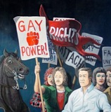 Stonewall painting by Sandow Birk