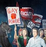 Stonewall painting by Sandow Birk