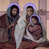 Holy Family by Janet McKenzie
