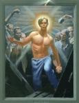 Jesus Rises by Douglas Blanchard