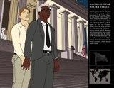 Bayard Rustin and Walter Naegle by Ryan Grant Long