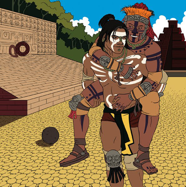 Unknown Mayan Couple by Ryan Long