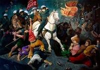 Battle of Stonewall by Sandow Birk