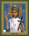 St. Joan of Arc by Robert Lentz