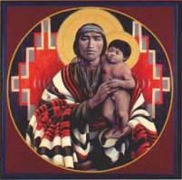 Joseph and the Christ Child by John Giuliani