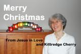 Kittredge Cherry with Xmas message