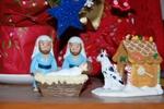 Gay Nativity Xmas card