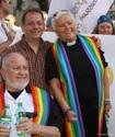 John McNeill at EuroPride Rome by Bill Wilson