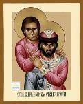 St. Boris and George by Robert Lentz